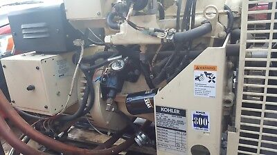 Kohler 10kw Commercial Generator Used...very Low Time...extremely Clean Unit