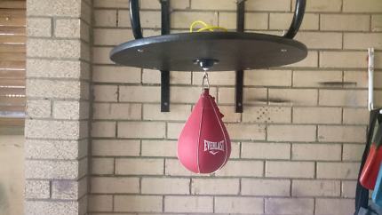Speedball,boxing bag,gloves etc
