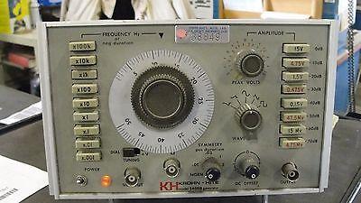 Krohn-hite 5400b Function Generator 2mhz-5mhz