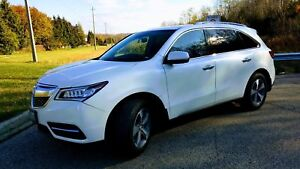 2014 Acura MDX extended factory warranty