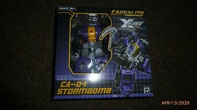 Transformers Fansproject Insecticons Stormbomb Deluxe Figure Complete Bombshell
