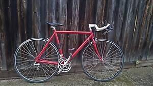 Custom built road bike, alloy frame 54cm Yarraville Maribyrnong Area Preview