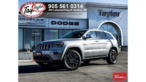 2017 Jeep Grand Cherokee Limited V6 w/Pano Sunroof, Navi, Blinds