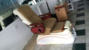 Used pedicure chair