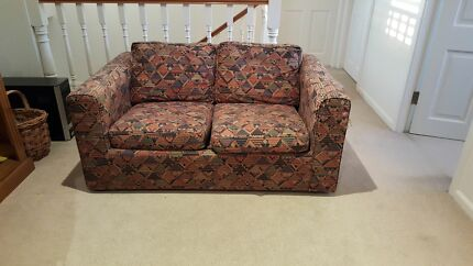 Old single Sofa bed. Used. Ok condition. Pickup only. St Ives Ku-ring-gai Area Preview