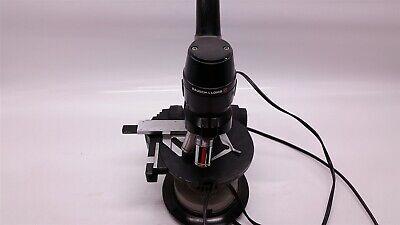 Bausch Lomb 812550-104 Vintage Light Microscope W 3 Objectives