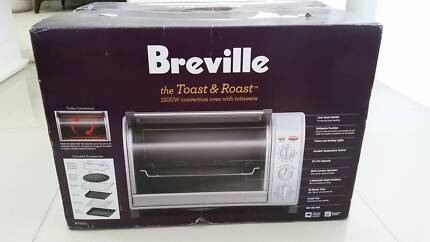 Breville Toast & Roast BOV550 Benchtop Oven WITH ACCESSORIES
