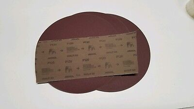 12-inch Psa Mirka 120 Grit Sanding Discs 3pcs Made In Usafits Dewalt.