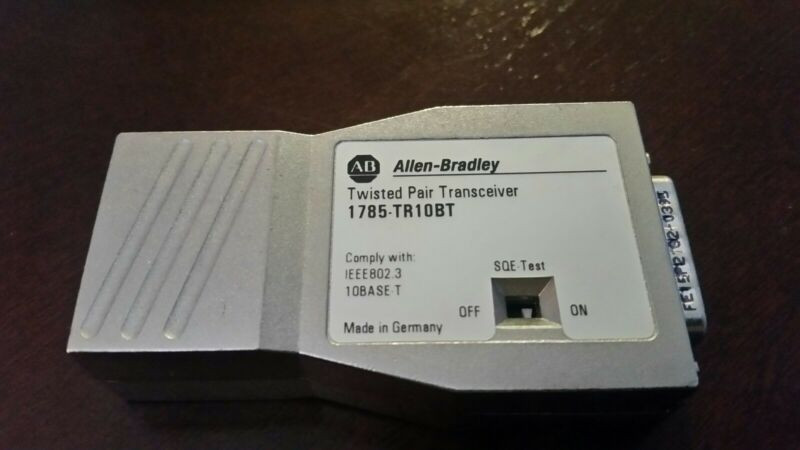 NEW ALLEN BRADLEY 1785-TR10BT Ethernet Transceiver