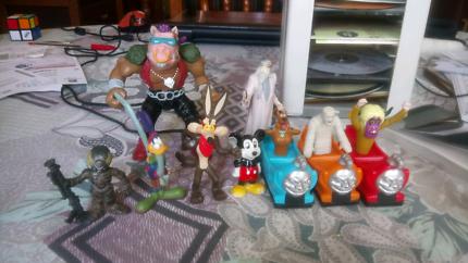 Assorted figures