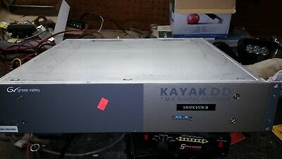 Grass Valley Kayak DD 1 M/E Digital Switcher  for sale  Shipping to Canada