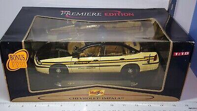1/18 MAISTO TENNESSEE 2000 CHEVROLET IMPALA POLICE CAR