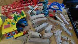 WOODEN TRAIN SET Grange Charles Sturt Area Preview