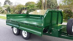 FROM $57 P/WEEK ON FINANCE* 10x6 FLATBED TIPPER TRAILER - 3 TONNE Narre Warren Casey Area Preview