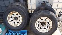 Used wheels & tyres P235/75R15 Yatala Gold Coast North Preview