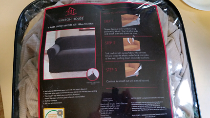Couch cover for 3 seater. As new