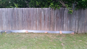 Aluminium fencing 5 lengths and anchoring pegs. Wulguru Townsville City Preview