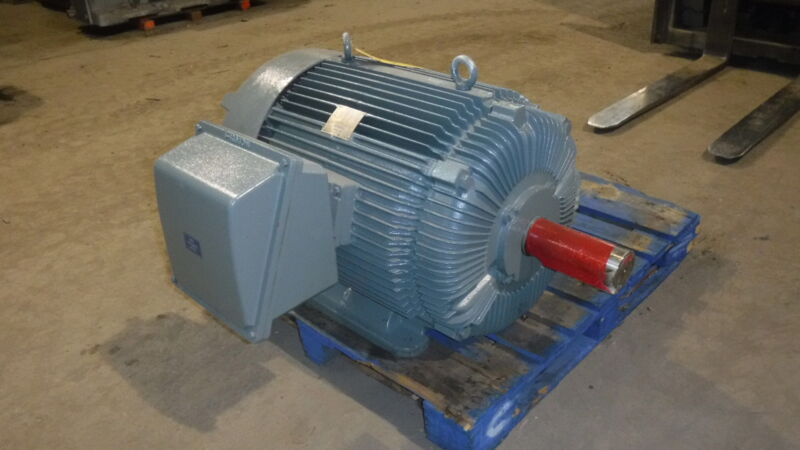 150 Hp Hico Electric Motor, 1800 Rpm, 445t Frame, Tefc, 460 V, New