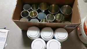 Clean and free tin cans and laundry booster containers Highland Park Gold Coast City Preview
