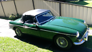 Classic B.R.G 1967 MGB with brand new Hood. Lake Haven Wyong Area image 2