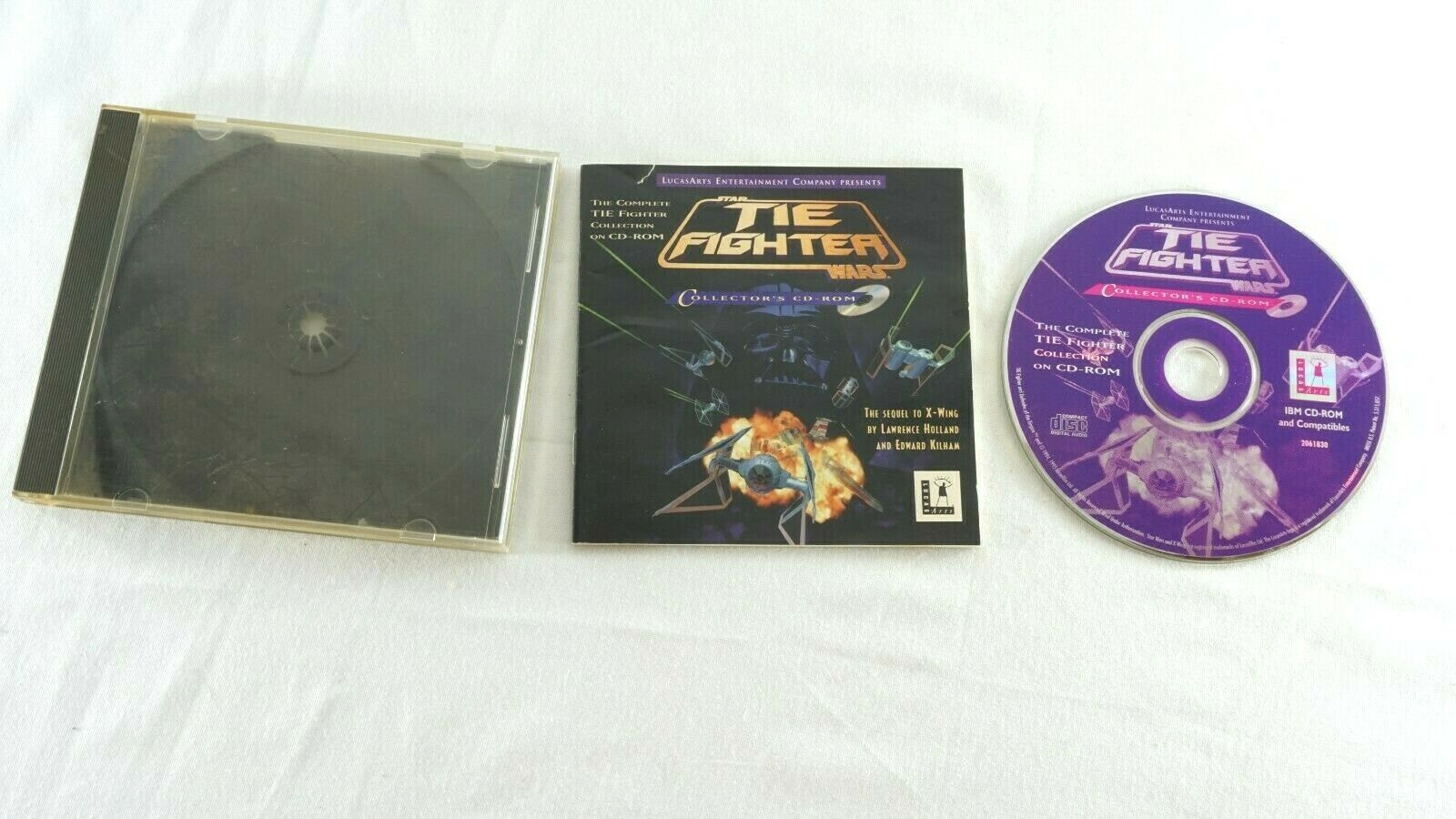 Computer Games - Tie Fighter Computer Game For PC Star Wars Windows 95/98 Collector's CD-ROM war