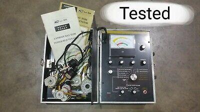 Bk Precision Model 466 Crt Cathode Ray Tube Tester Rejuvenator By Dynascan