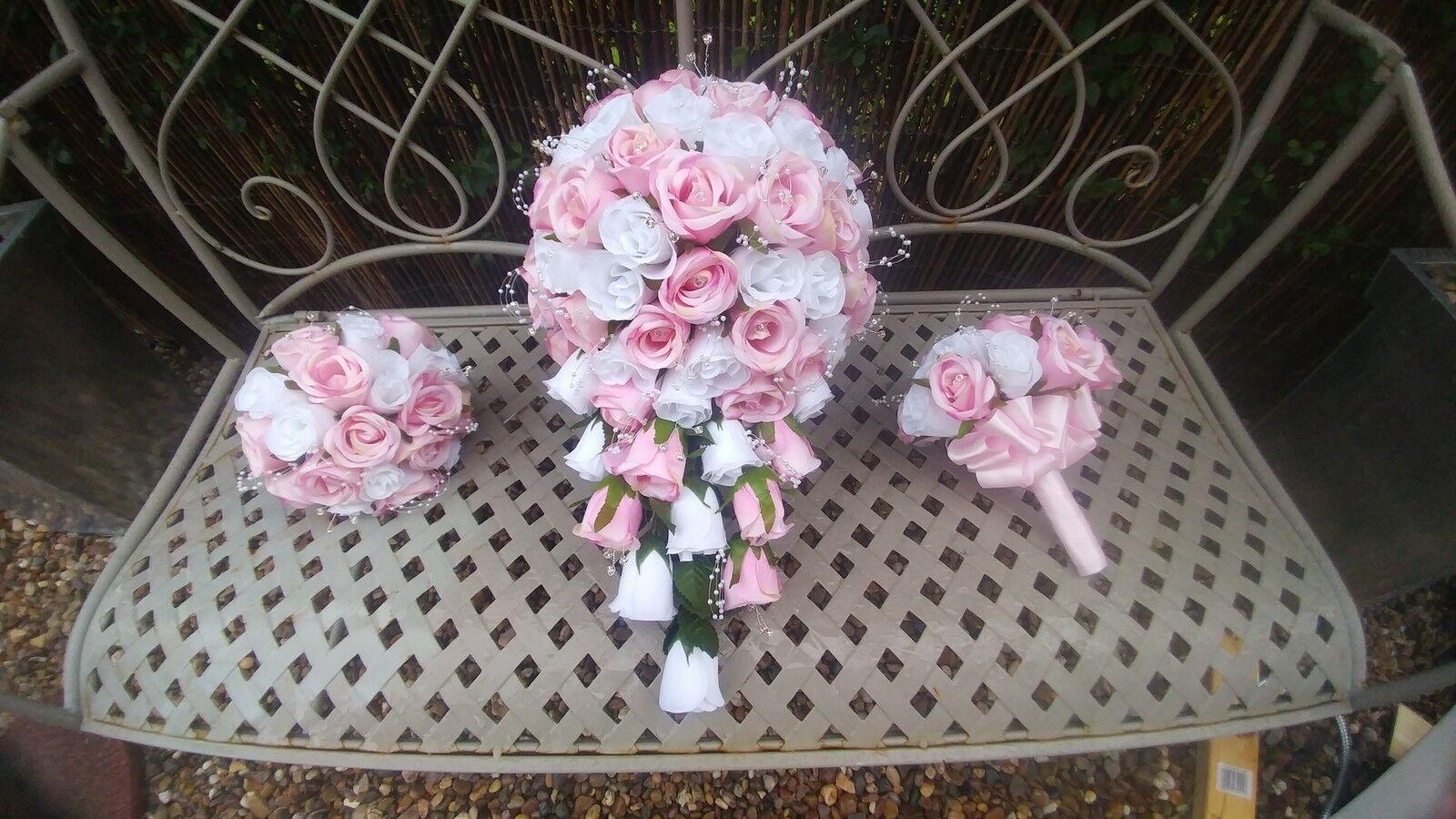 Artificial Bridal Bouquet's