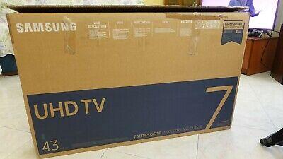 """Samsung UE43NU7090UXZT Smart TV 4K Ultra HD 43"""" Wi-Fi DVB-T2CS2 Serie7"""