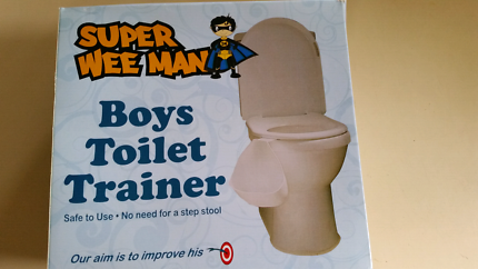 Boys toilet trainer. As new.