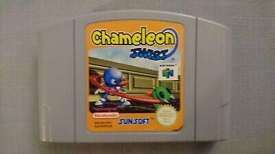 Jeu Game Chameleon twist pour console Nintendo 64 N64 version PAL fonctionne