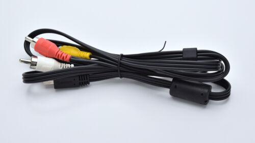 Genuine Canon AVC-DC400ST Stereo AV Cable #4076B001 1DX 5D 6D 7D 60D T4I (3117U)