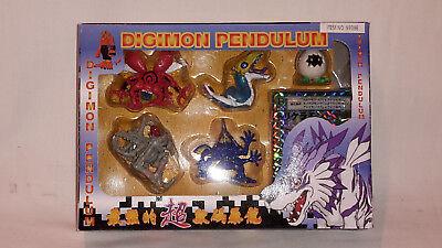 Digimon Pendulum 5 Figuren+Karte Original Bandai Japan 1999 Item 9939E