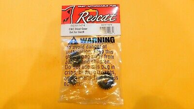 Redcat Racing 11474 CNC Steel Gear Set for Gen8 Transmission and Transfer Case