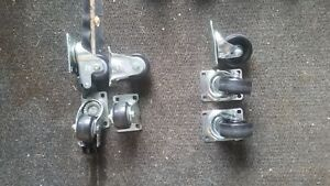 Various casters refer to description and photos for details