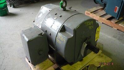 50 HP DC General Electric Motor, 1750 RPM, 404AS Frame, DPFV, 500 V, 1.15 SF