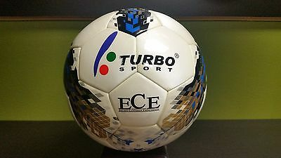 SOCCER BALL TURBO SPORT SC-385 OFFICIAL SIZE 5 PU LEATHER + EVA COVER Leather Soccer Ball