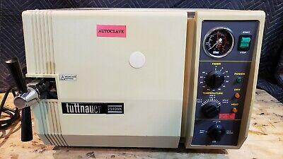Tuttnauer 2540mk Autoclave Steam Sterilizer  Detal Medical Used