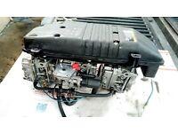 yamaha 90 hp 2 stroke carbs carburetors + air box 2004 model