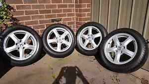 Tyres wheels for sale Accord euro16 inch 205/55/16R Hallam Casey Area Preview