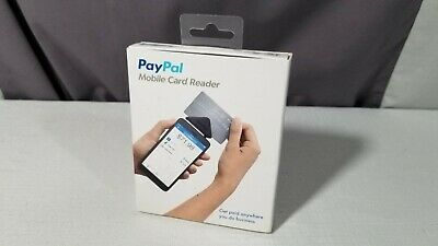 New Paypal Mobile Credit Card Reader Swiper For Iphone Android Devices Nib