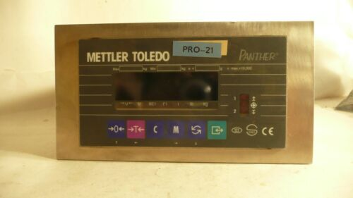 METTLER TOLEDO PRO-21 PANTHER SCALE INDICATOR PTPN 1600 000