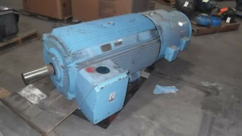 300 HP Siemens AC Electric Motor 1200 RPM Fr S449LS TEAOBB 460 V New