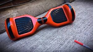 Bluetooth hover board with led lights