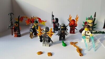 Lego Ninjago Minifigures Job Lot Bundle limited  edition sets x 9 kai jay zane