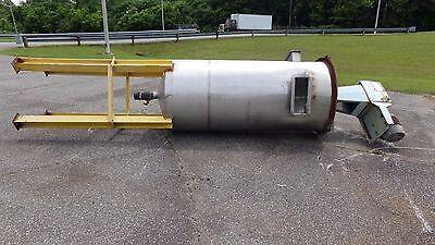 370 Gallon Stainless Steel Mixing Tank W Lightnin Mixer 3 Hp Motor