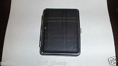 BRAND NEW KING SIZE CIGARETTE CASE FAST SHIPPING LEATHER LIKE - Leather Like Cigarette Case