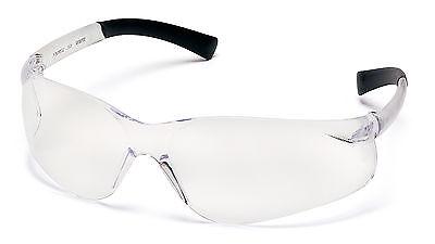 3 Pair Pyramex Ztek Clear Lens Safety Glasses