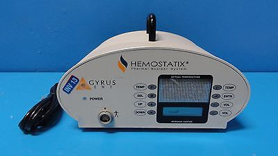 Gyrus Ent Hemostatix Medical Technologies 2400z Thermal Scalpel System 13359