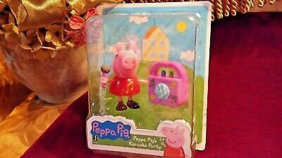 World of Peppa Pig Collectible Figurine Toy Peppa Pig's Karaoke Party
