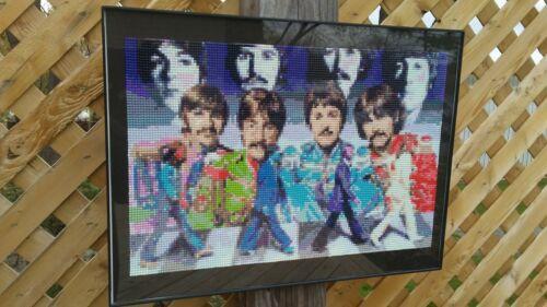 Beatles Handmade Diamond Painting Crystal Art in Frame